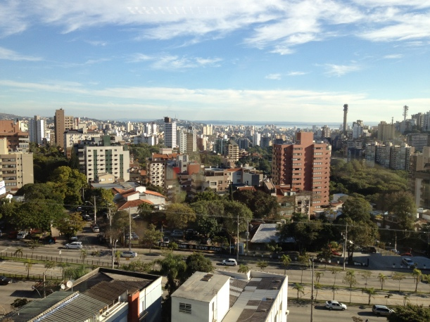 Porto Alegre from the office of CRP